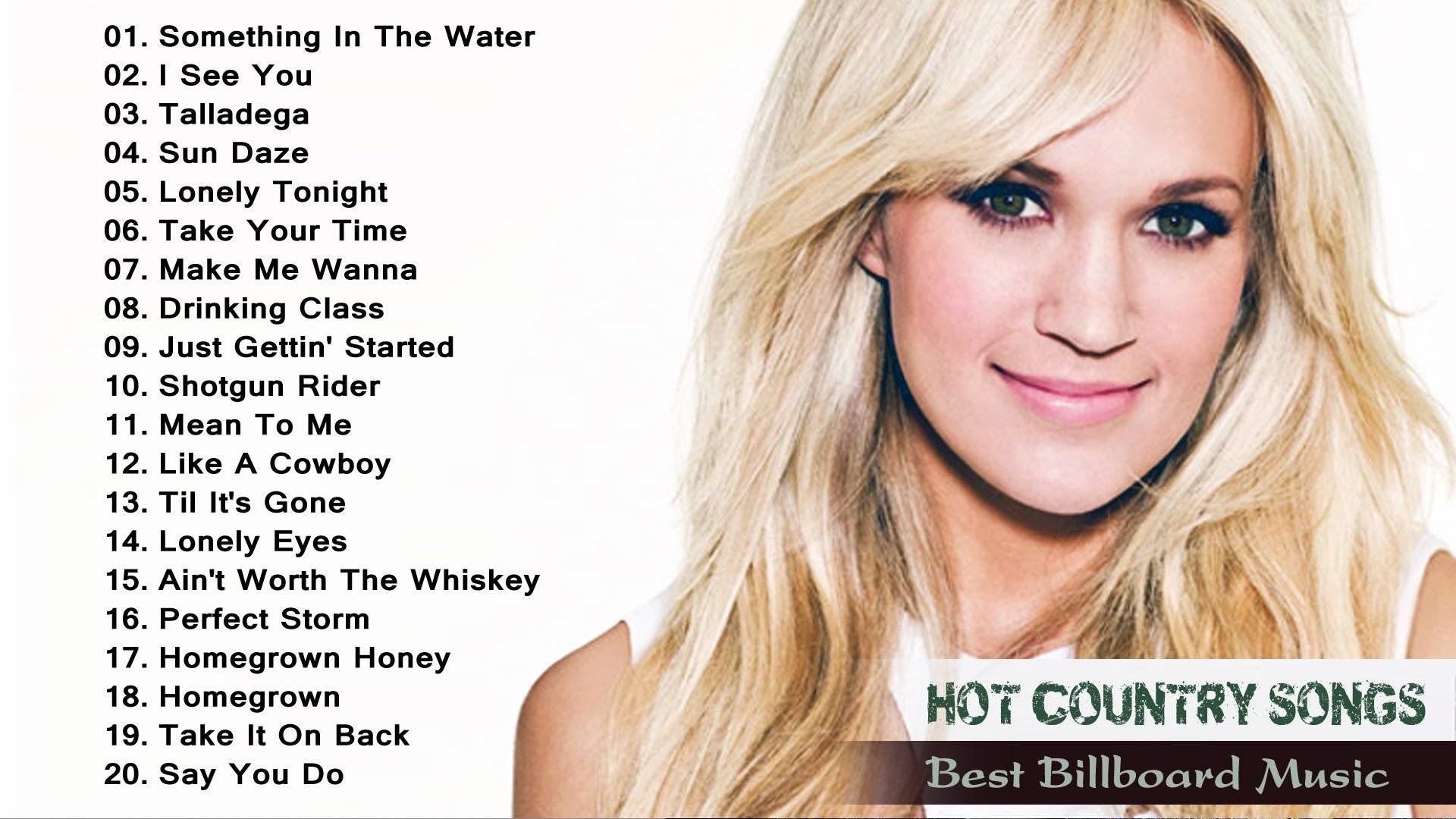 Top 10 female country songs