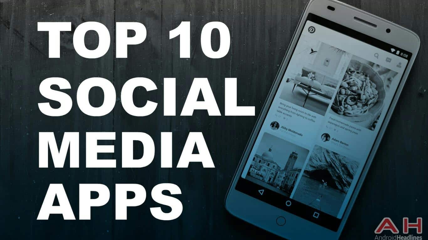 Top 10 social apps for android