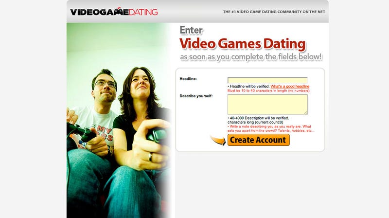 Video gamer dating review