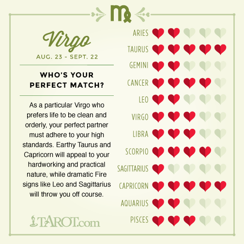 Virgo and leo love match
