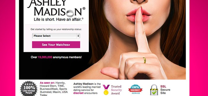 Website where married couples cheat