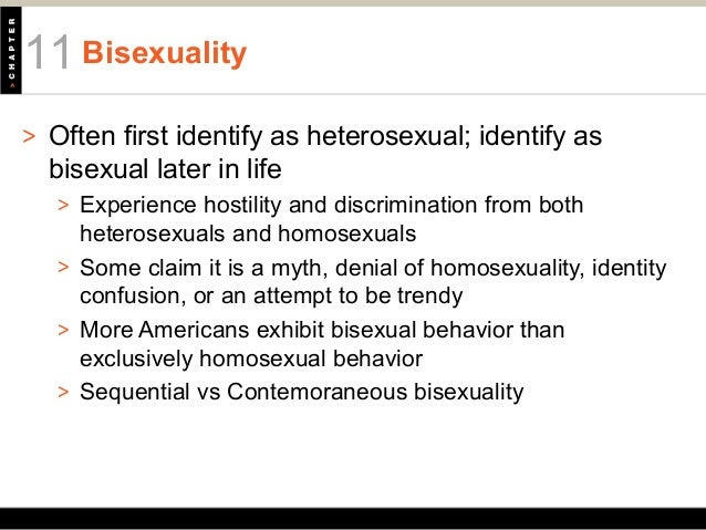 What is sequential bisexuality