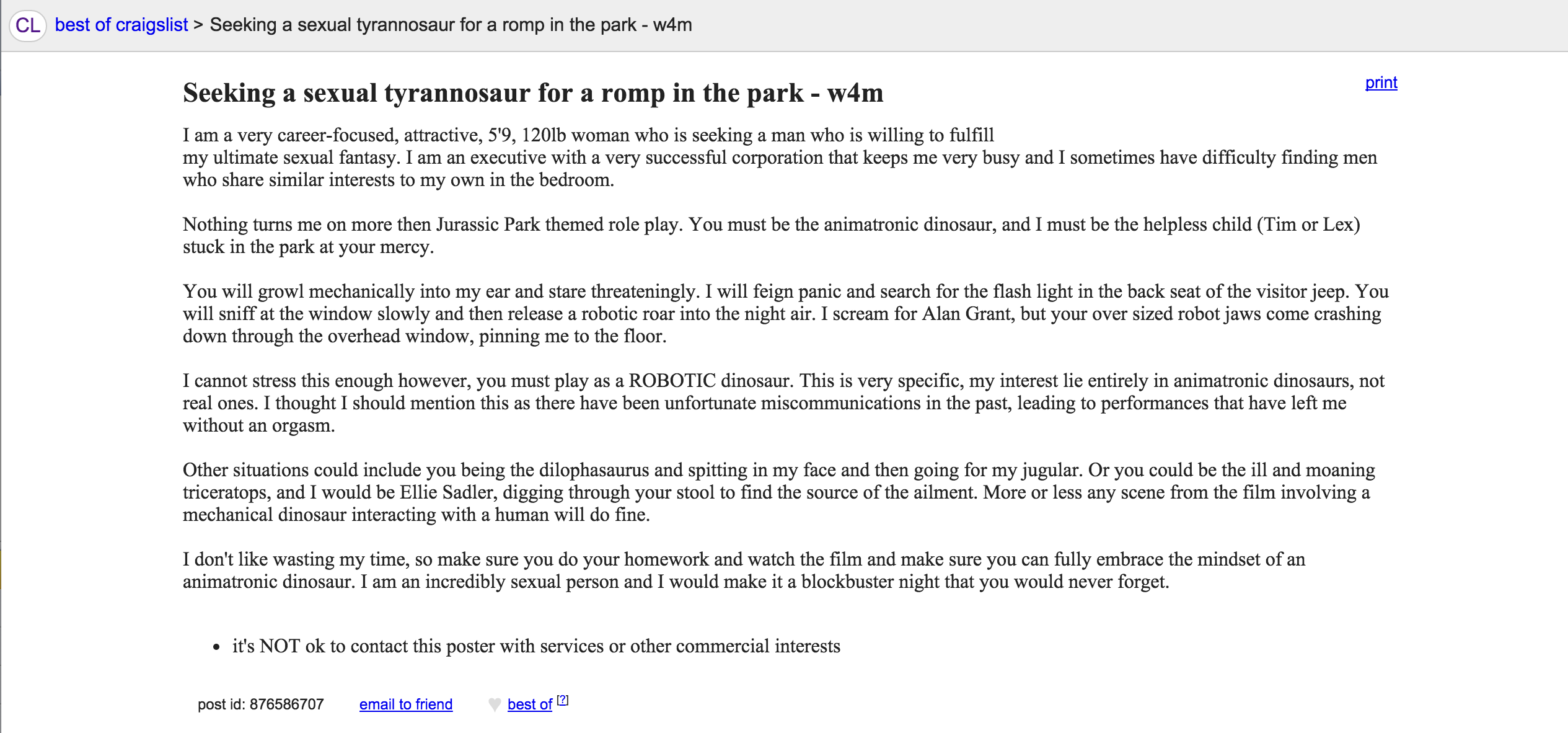 What is w4m on craigslist.