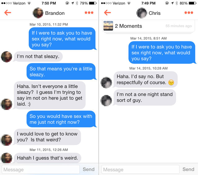 What to ask on tinder
