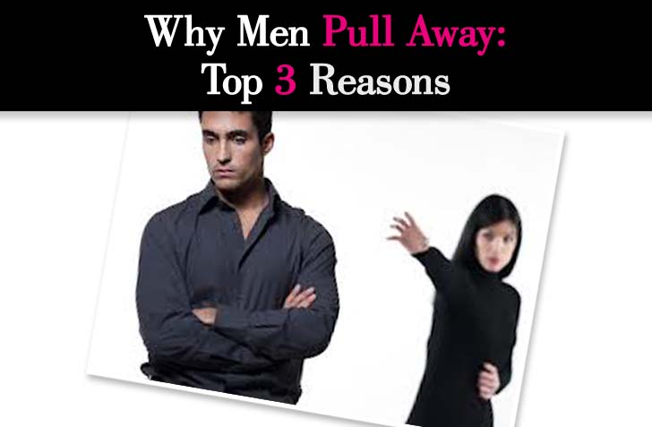 When a man is stressed and pulls away