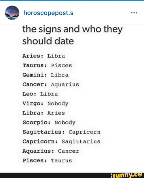Who should scorpios date
