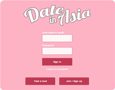 Www dateinasia sign in