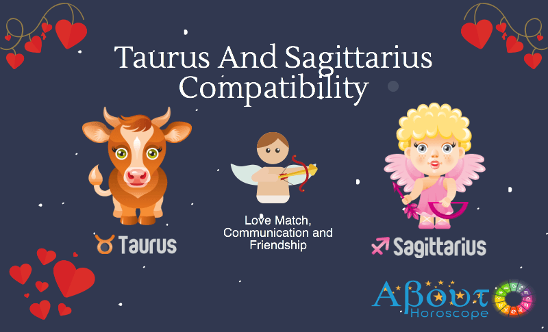 Zodiac signs taurus and sagittarius