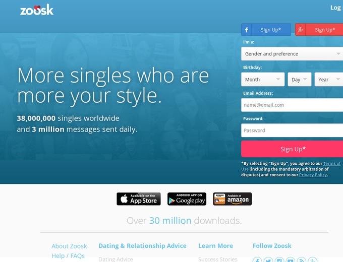 Zoosk coupons that work.