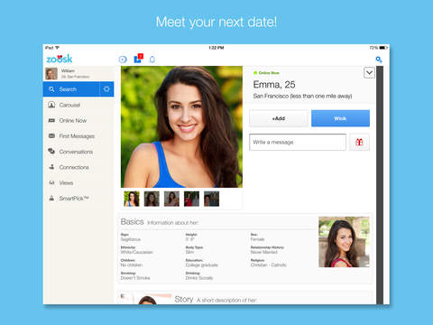 Zoosk dating cost