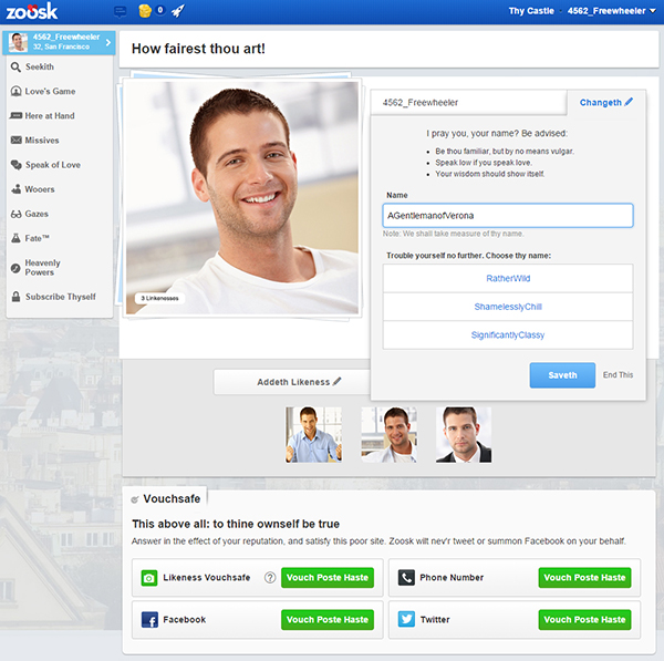 Zoosk questions and answers